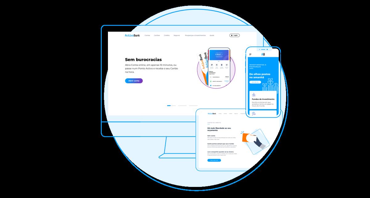 Bem-vindo ao nosso novo Site - ActivoBank